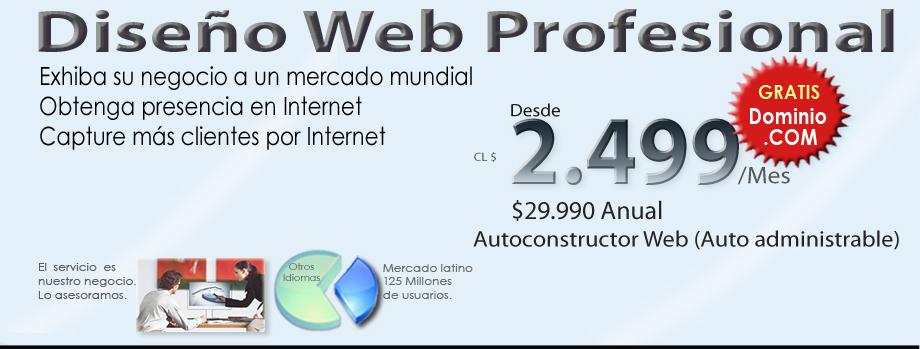 Diseño web y autoconstructor Web